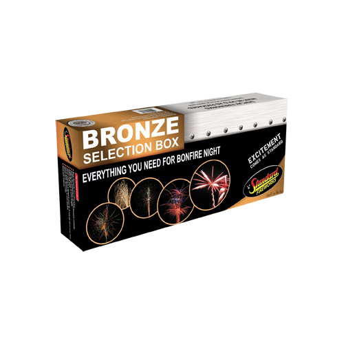 Standard Fireworks Bronze Box - Big Shotter Fireworks
