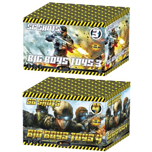Big Boys Toys 3 & 4