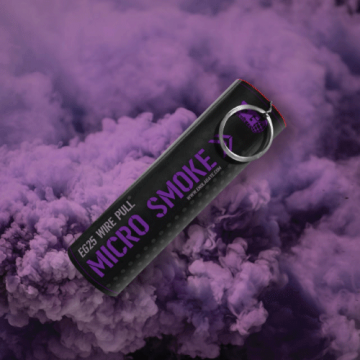 EG25 Micro Wire Pull Smoke - Purple