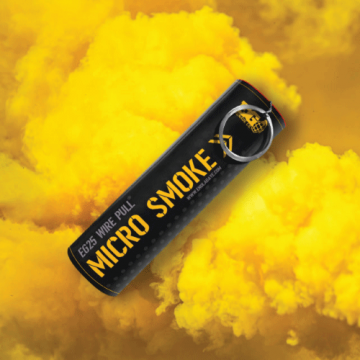 EG25 Micro Wire Pull Smoke - Yellow