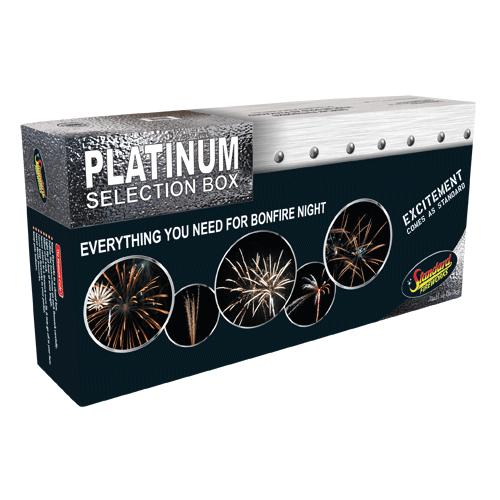 Standard Fireworks Platinum Box - Big Shotter Fireworks