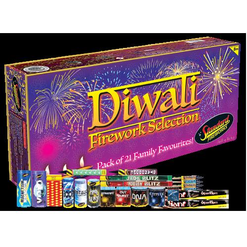 Standard Fireworks Diwali Selection Box - Big Shotter ...